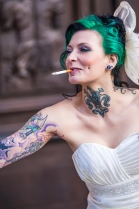 Tattoos limiting your bridal gown choice
